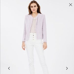 IRO Purple Shavani Jacket